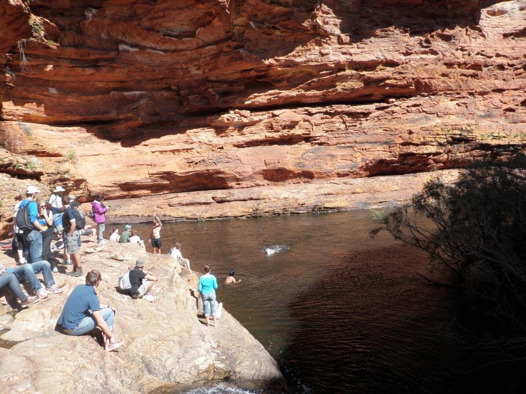 Lagoa na Austrália