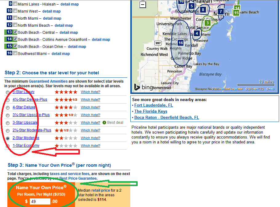 Finding Hotels