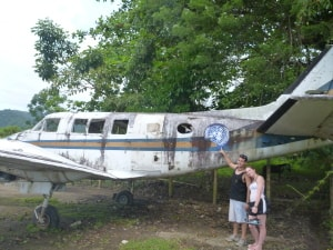 Fake UN plane from trafickers