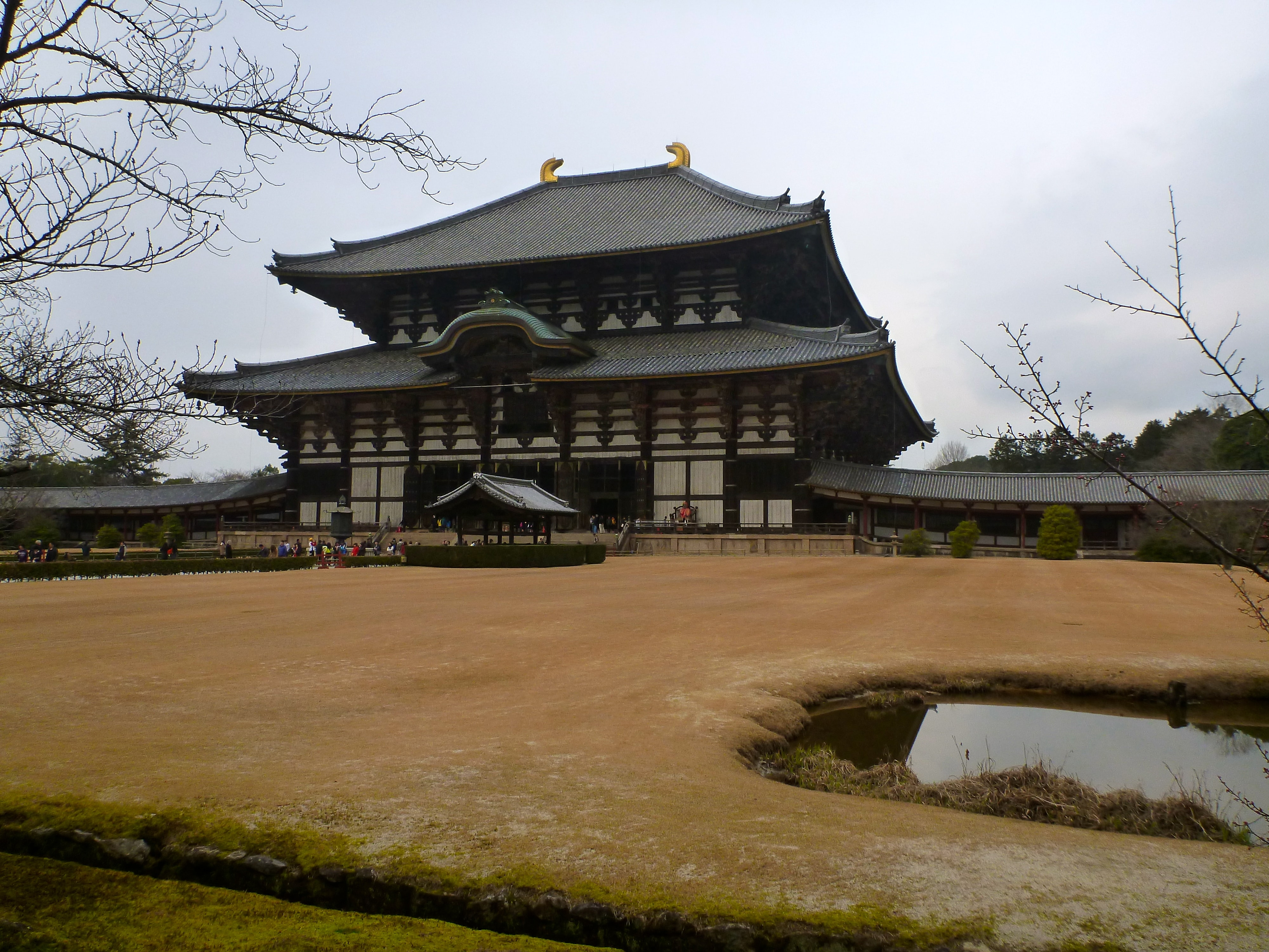 Daibutsuden of the Todaiji temple