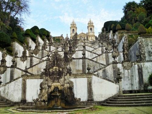 Bom Jesus do Monte Church, Braga, Portugal