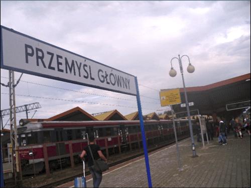 Przemysl train station