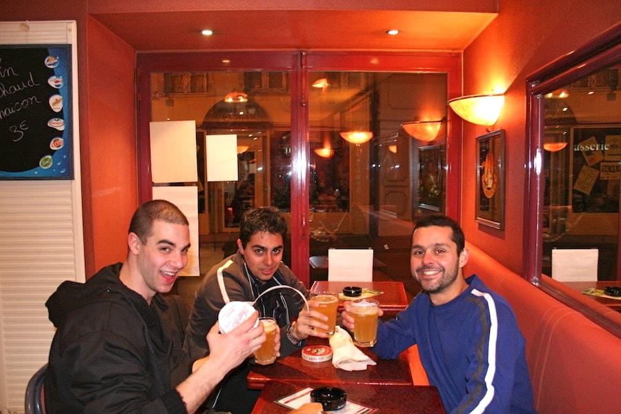 Bar drinking