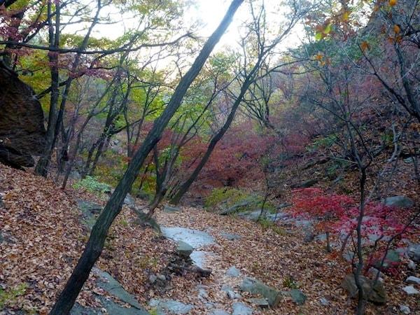 Outono em Bukhansan
