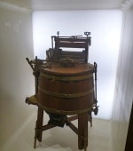 The first ever washing machine