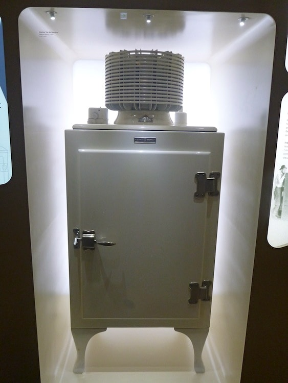 The first ever fridge