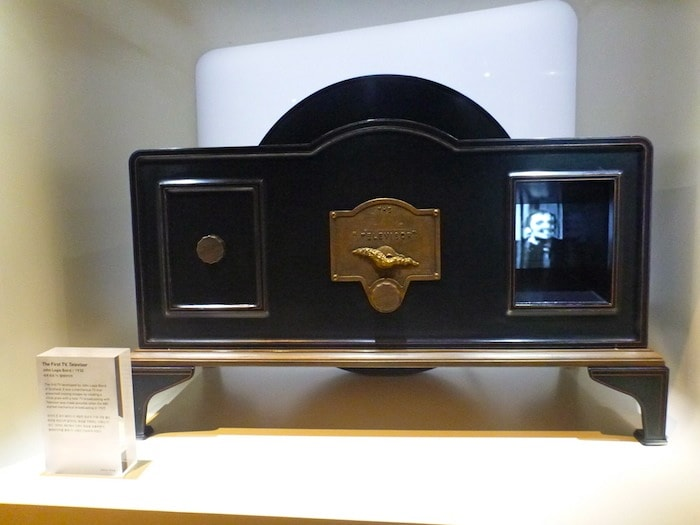 The first ever TV