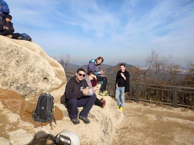 Inwangsan Mountain Peak