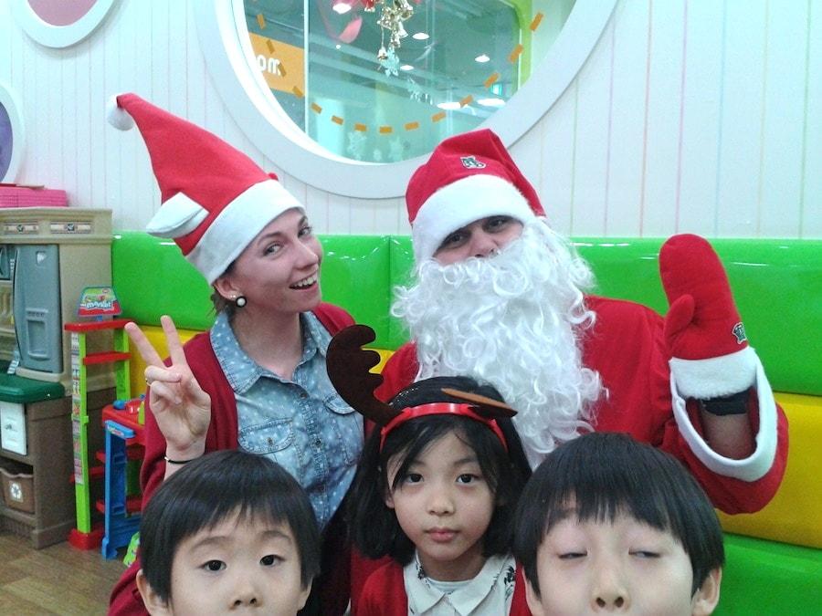 Papai Noel Coréia do Sul