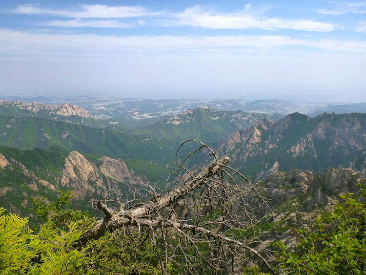 Hiking Seoraksan Korea