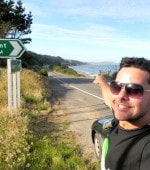Shag Point Road Sign New Zealand