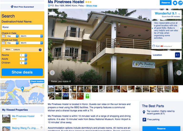 Hostel in Koror, Palau