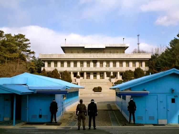 JSA e a Zona Desmilitarizada entre a Coreia do Sul e do Norte