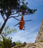 Helicopter Rescue at Seoraksan National Park