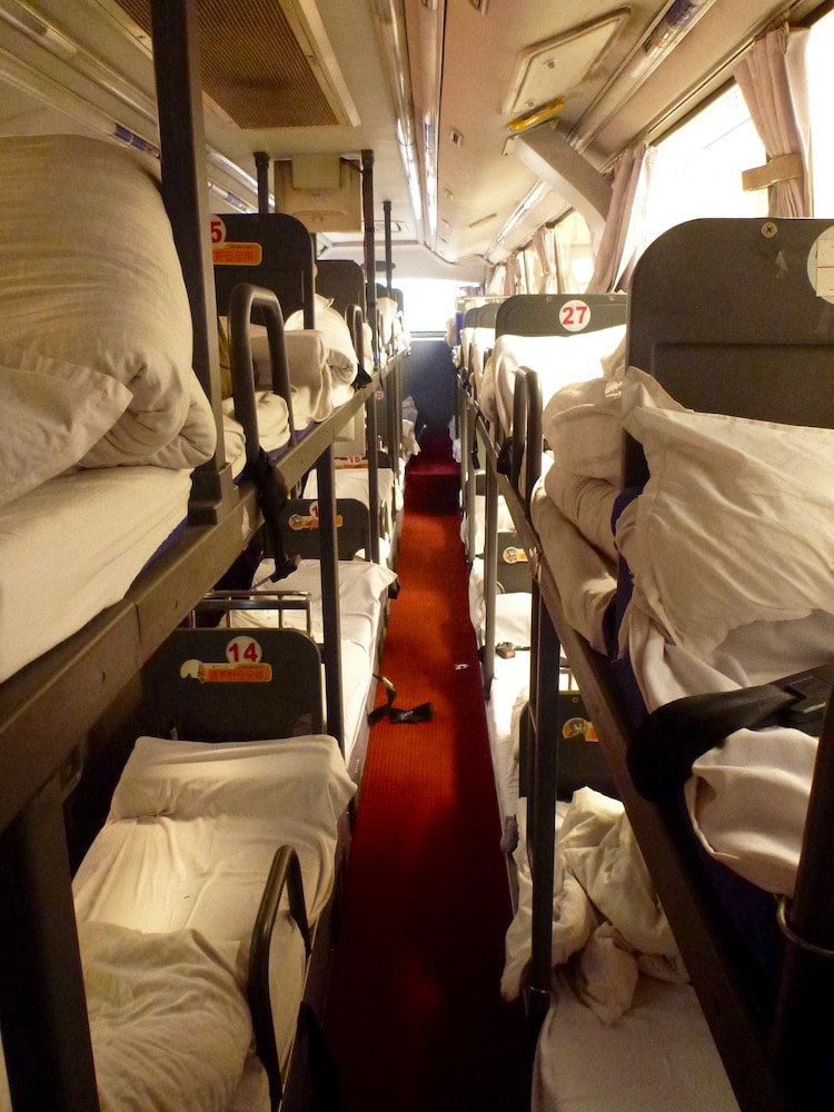 Sleeping Bus China Beijing