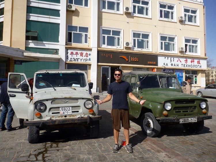 Jeeps Erlian Erenhot