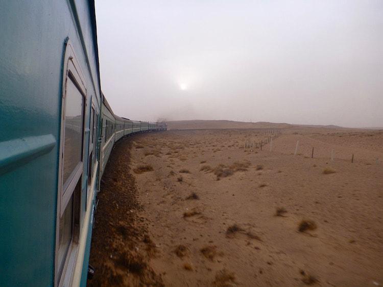 Trem Transmongolia Transiberiana