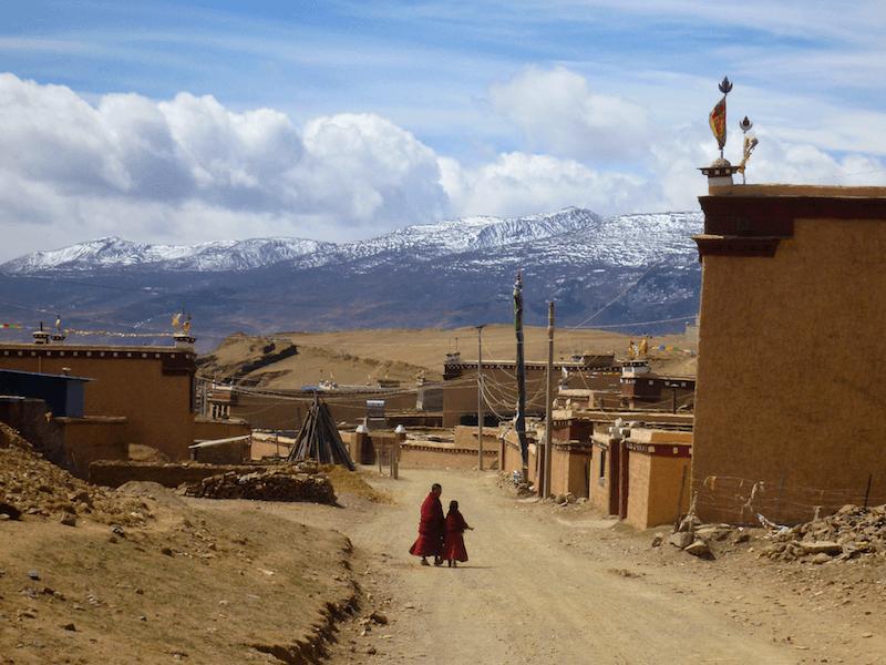 Litang Tibet China Monk