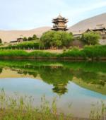 Dunhuang Oasis Sand Dunes China