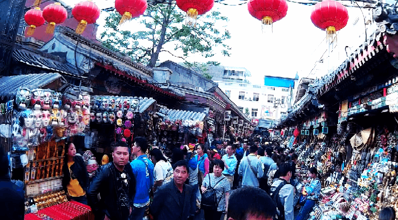Mercado Peking na China
