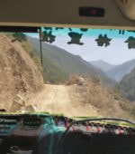 Road between Shangri-La and Litang in China/Tibet