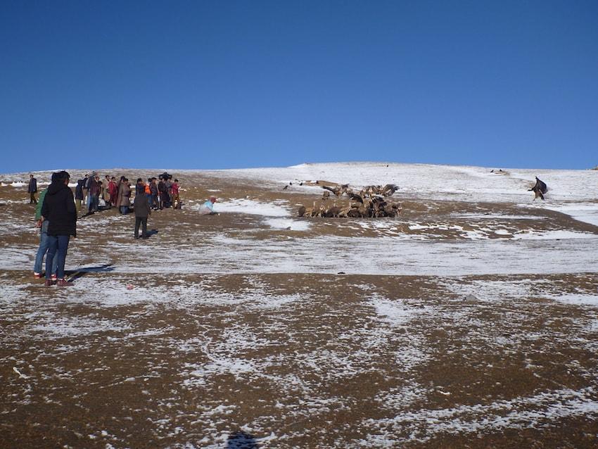 Litang Tibet China Sky Burial