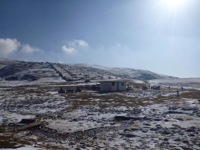Enterro Celestial Litang Tibete China