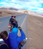 Motorcycle Litang Tibet China