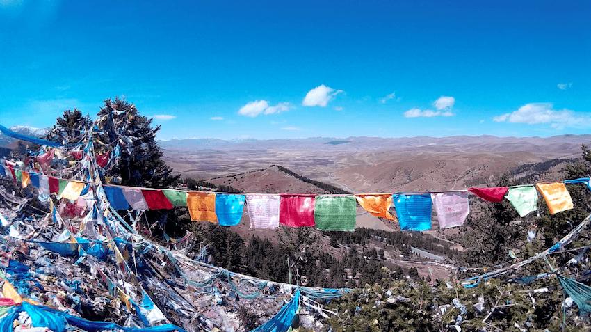 Litang Tibet China Holy Mountain