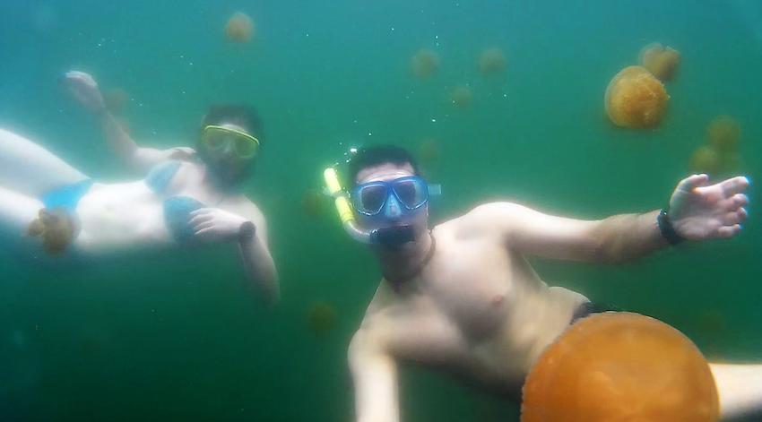 Lago das Águas-Vivas!