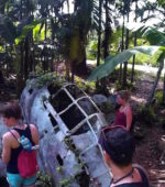 Japanese Fighter Plane in Peleliu Palau
