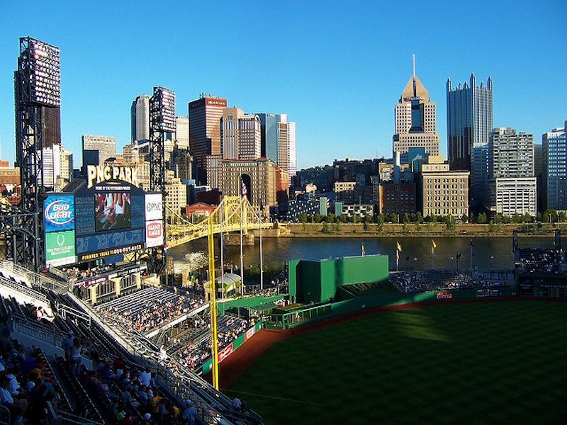 View from inside PNC Stadium