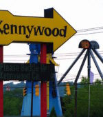 Kennywood Park from a distance Pittsburgh