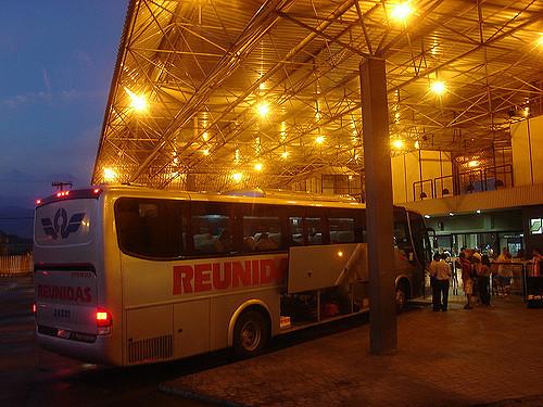 Bus terminals in Brazil