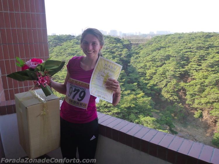 Maratona de Pyongyang 2016 na Coreia do Norte