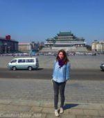 western american tourist Pyongyang North Korea kim il-sung