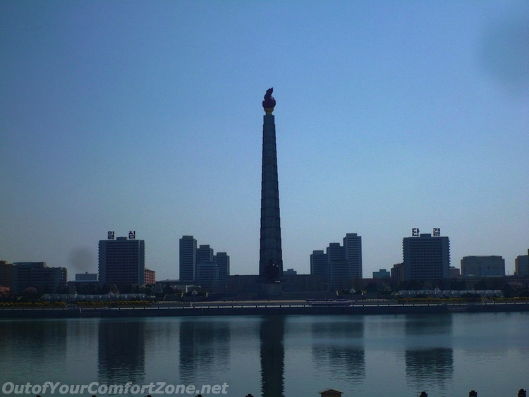 Juche Tower Pyongyang North Korea