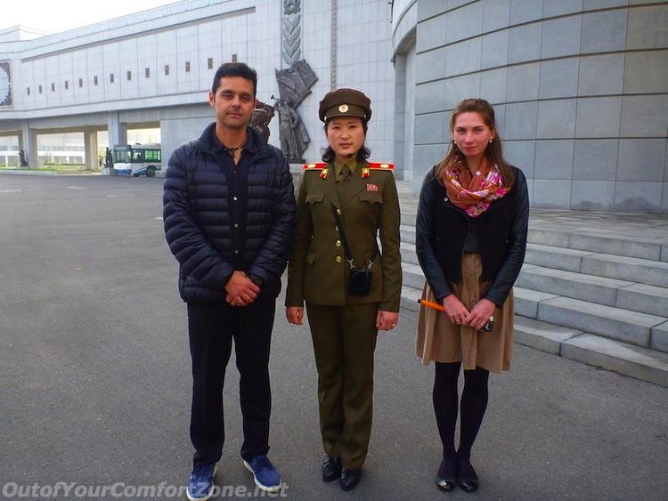 Pyongyang North Korea tour guide soldier War Museum