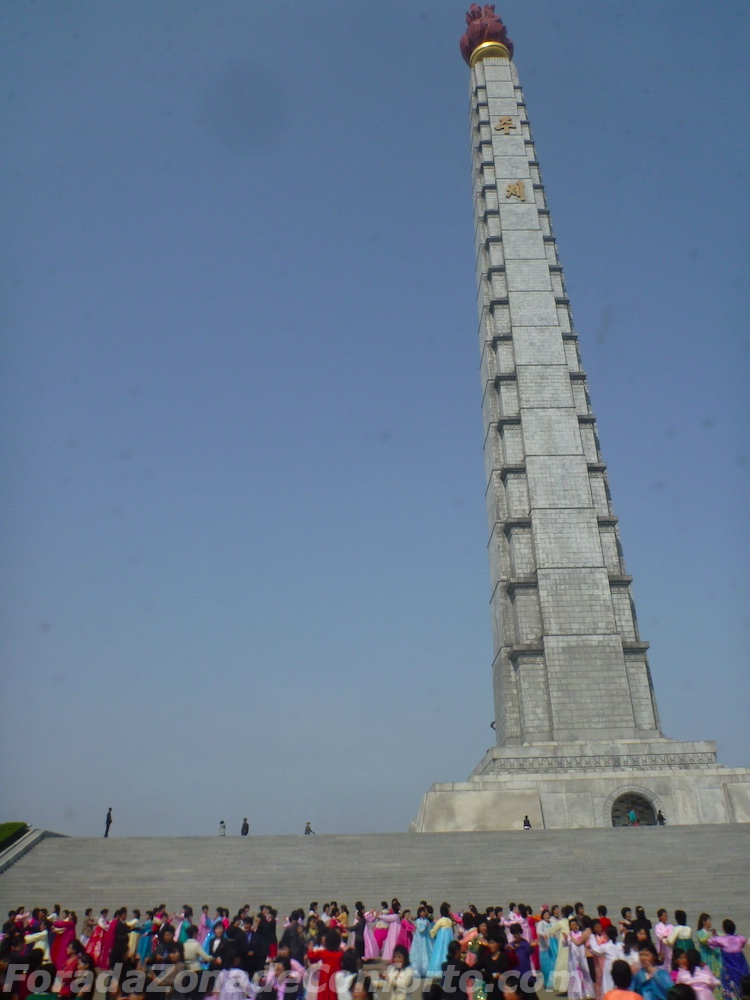 Torre Juche Coreia do Norte