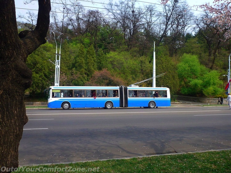Public Transportation in North Korea