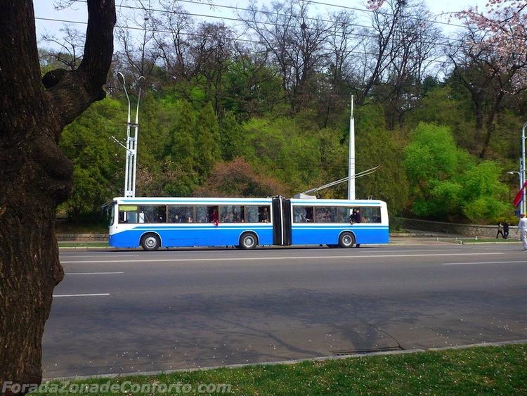 Transporte Público Coreia do Norte