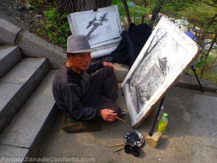 Pintor Norte-coreano