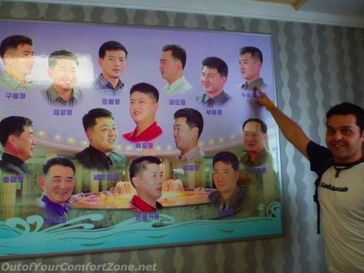 North Korea haircut choices