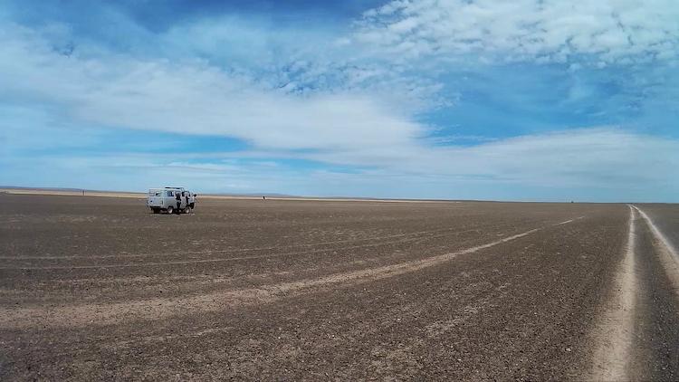 Mongolia open space Gobi Desert