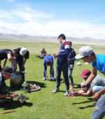 Mongolia high school students animal slaughter