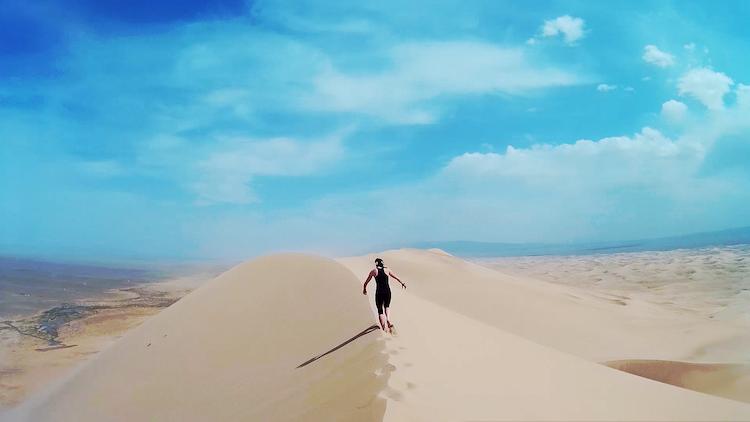 dunas no deserto