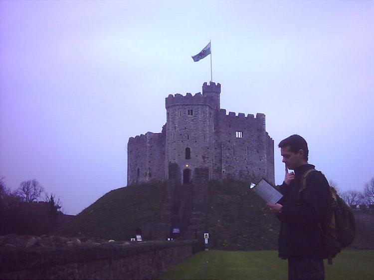 castelo país de gales