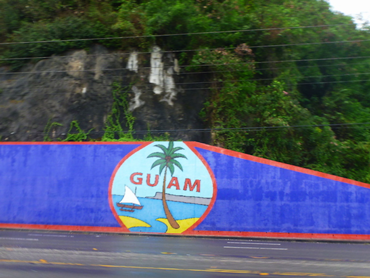 Guam Sign