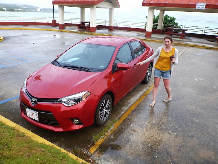Car rental Guam