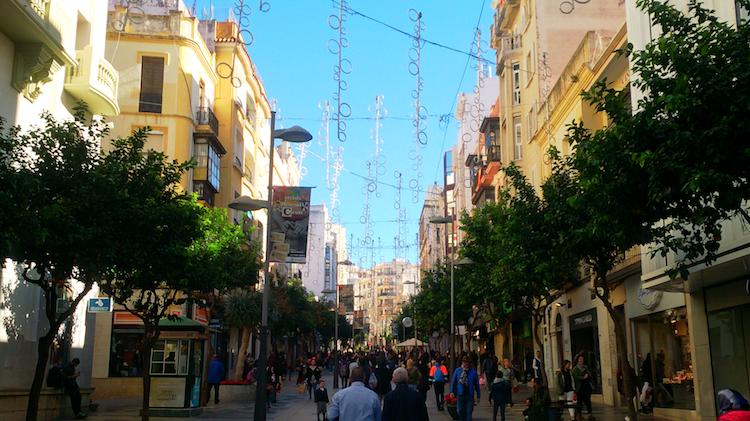 Paseo de Revellín Ceuta